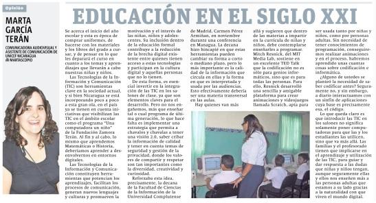 012. educación en el siglo XXI