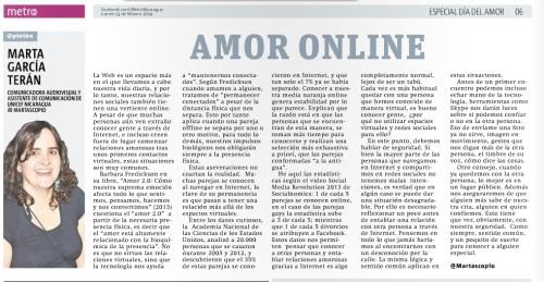 Amor Online por Marta G. Terán