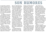 """""""Son rumores"""" por Marta G. Terán"""