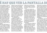 Por qué hay que ir a ver La Pantalla Desnuda, por Marta García Terán
