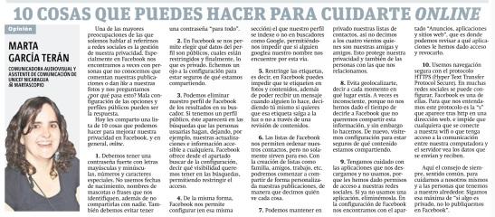 10 cosas que puedes hacer para cuidarte online, por Marta García Terán