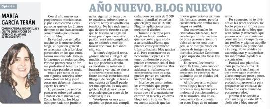 Año nuevo, blog nuevo, por Marta García Terán