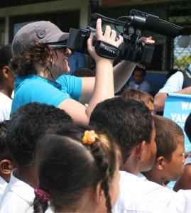 trabajando con UNICEF