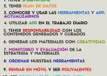 Decálogo del periodista móvil en Nicaragua fue elaborado por periosistas en el 2º Taller de Periodismo DIgital promovido por Grupo Unicomer con apoyo de Porter Novelli. Managua, 21 de marzo de 2015
