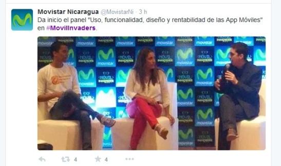 Seguí el hashtag #MovilInvaders para conocer lo que está sucediendo en el II Foro Telefonía y Sociedad en Managua