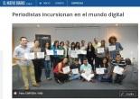 Nota en El Nuevo Diario sobre el ciclo de talleres sobre Periodismo Digital en los que fui la facilitadora junto a Porter Novelli, actividad auspiciada por Grupo Unicomer.
