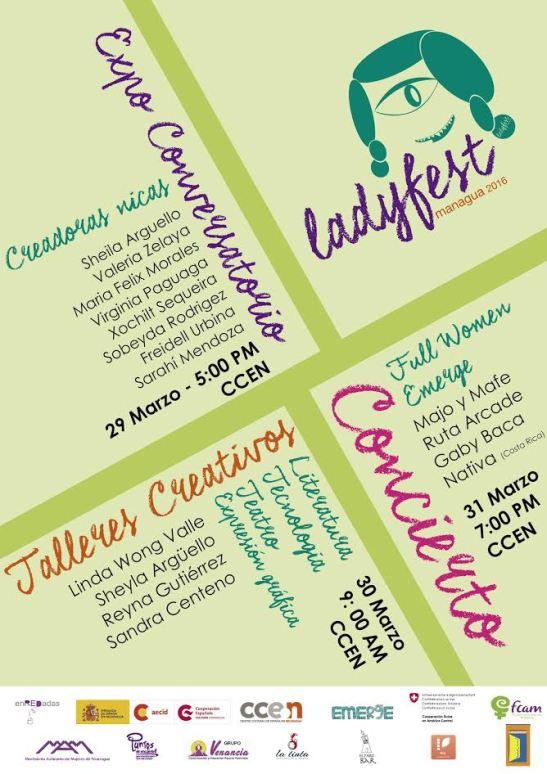 banner ladyfest managua 2016