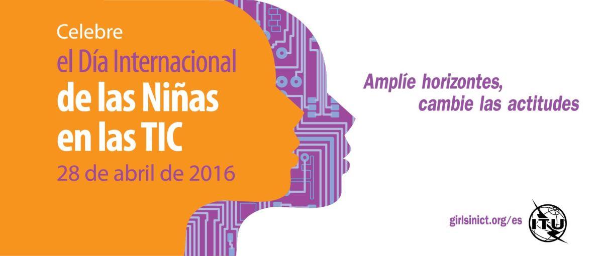 Celebrando el Día de las niñas en las TIC (Webinar)
