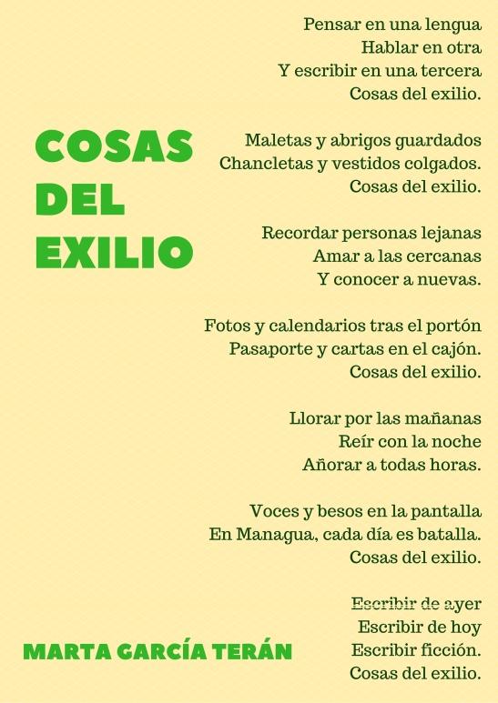 Cosas del exilio