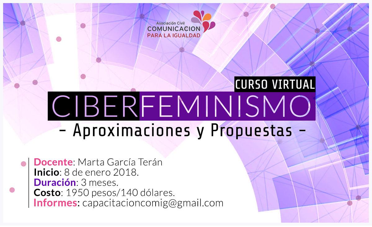 Curso online: Ciberfeminismo -Aproximaciones y Propuestas