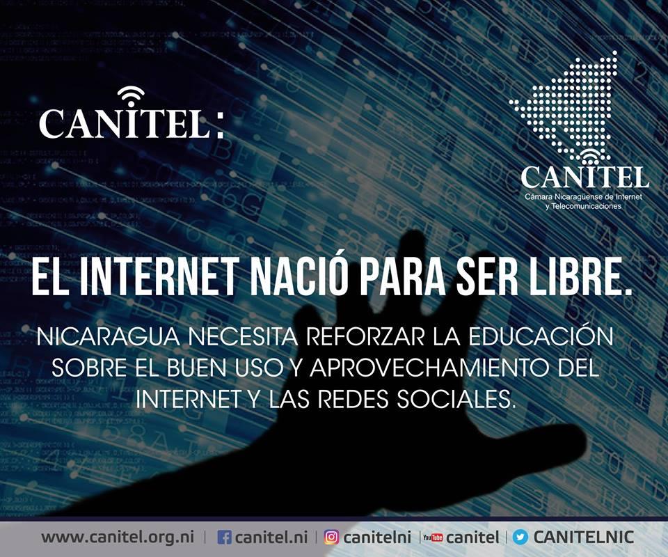 Hablemos de Internet y redes sociales en Nicaragua