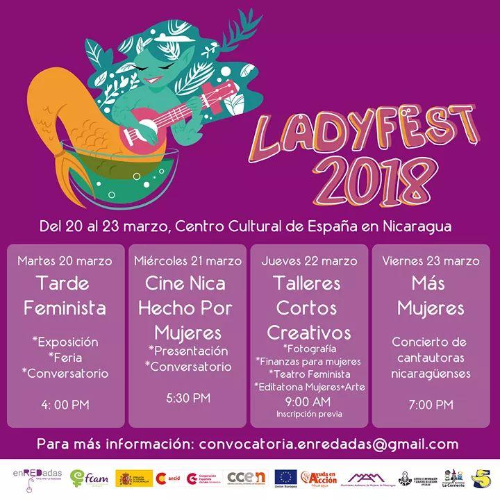 Ladyfest 2018 ya debe estar en tu agenda